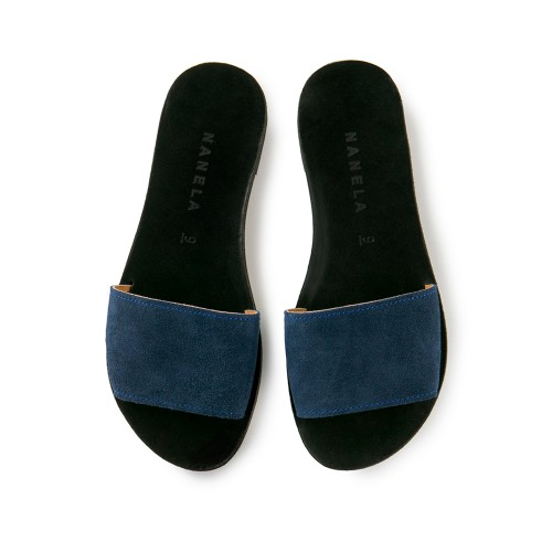 Σανδάλια PASHOUMI blue black