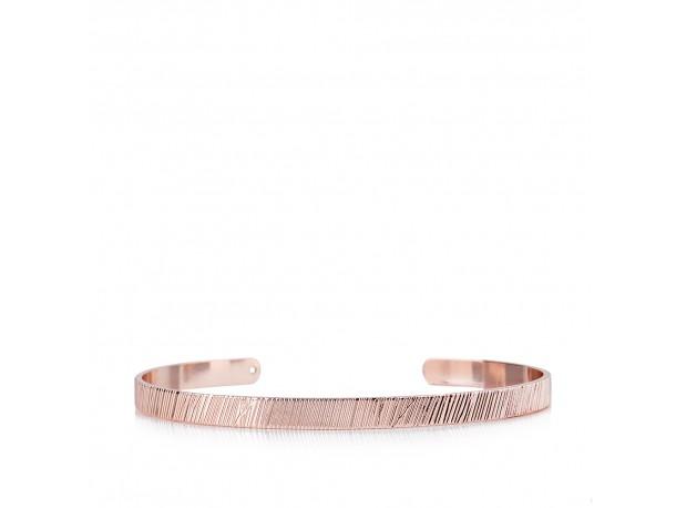 Χειροπέδα LINE Pink Gold