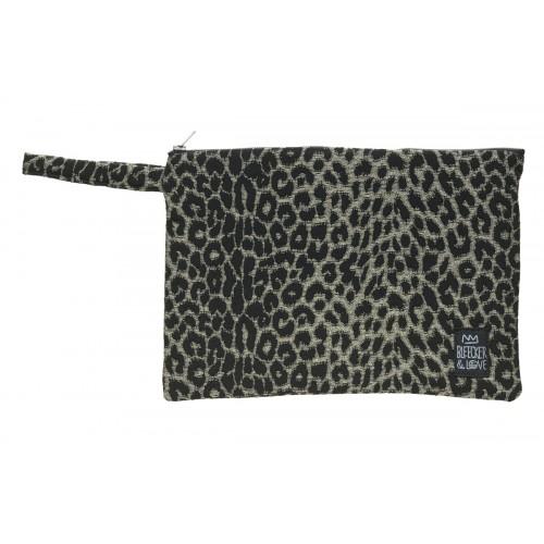 Τσαντάκι  Leopard Black  M
