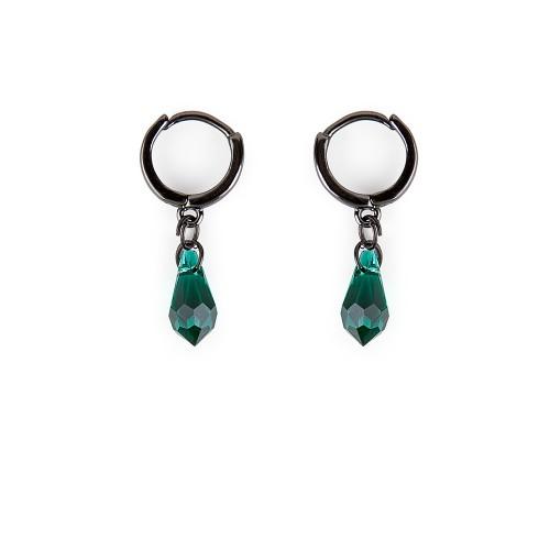 Σκουλαρίκια MATA Emerald
