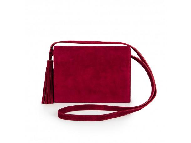 Δερμάτινη τσάντα SOFIA bordeaux