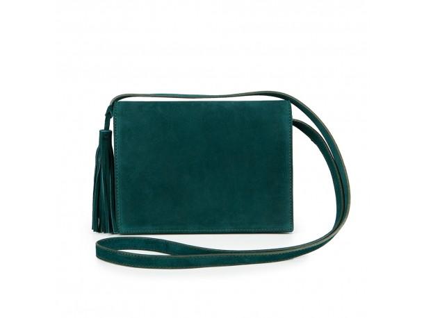 Δερμάτινη τσάντα SOFIA emerald