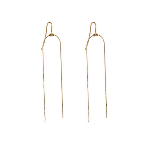 Σκουλαρίκια IRIS gold