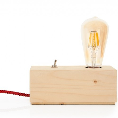 Επιτραπέζιο φωτιστικό BARCO wood