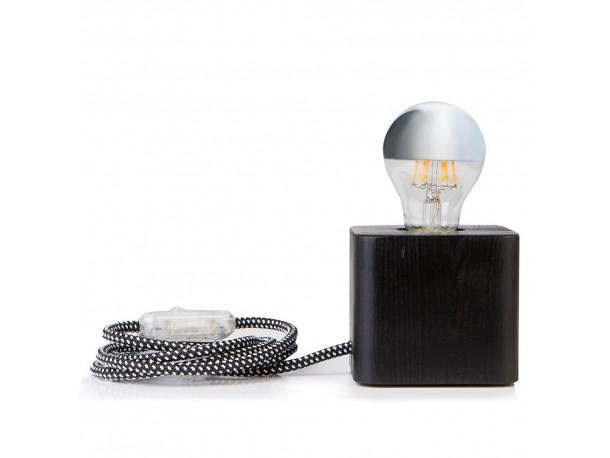 Επιτραπέζιο φωτιστικό CUBE black/white